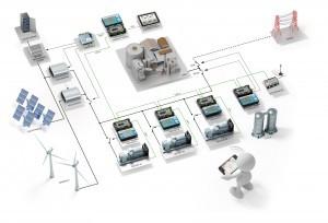 w300-Hybrid power plant using Sunpower's hybrid solution